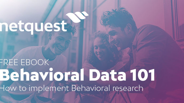 Behavioral Data 101