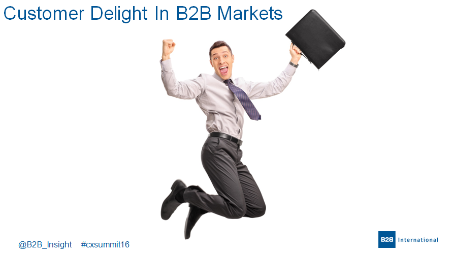Delivering Customer Excellence in B2B markets