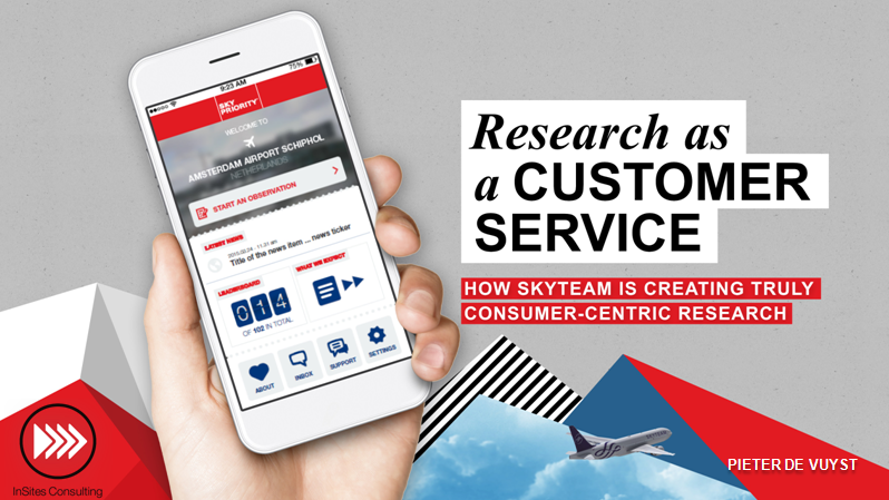 Research as a Customer Service; How SkyTeam are Creating True Consumer-Centric Research