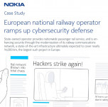 European national railway operator ramps up cybersecurity defense