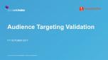 Audience Targeting Validation