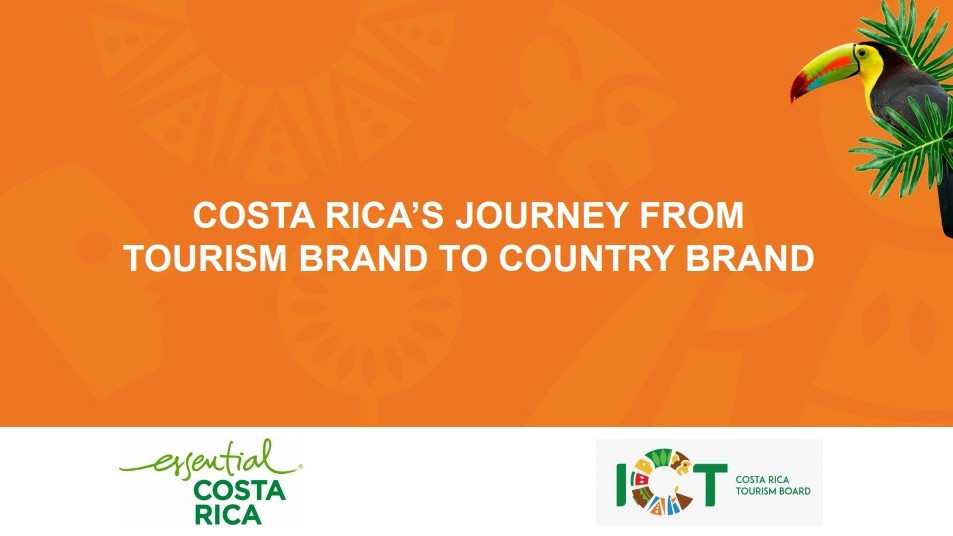 Costa Rica's journey from tourism brand to a country brand