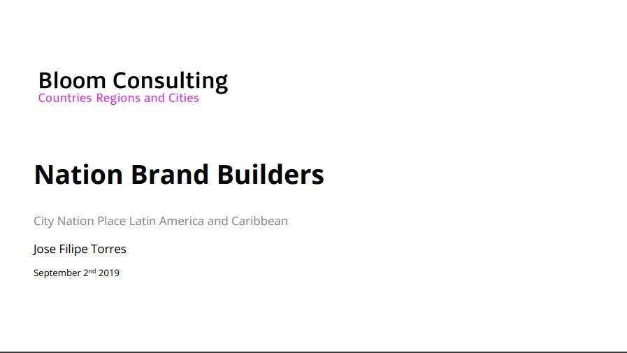 How to build a place branding strategy fit for today and tomorrow's globalised economy