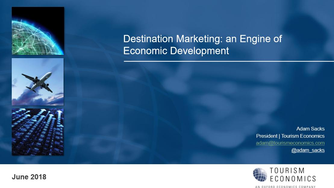 Destination Marketing: an Engine of Economic Development
