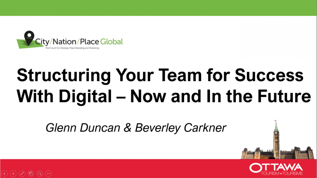 Structuring your team for success with digital - now and in the future