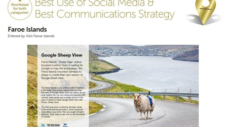 Faroe Islands Best Use of Social Media 2017 Winner