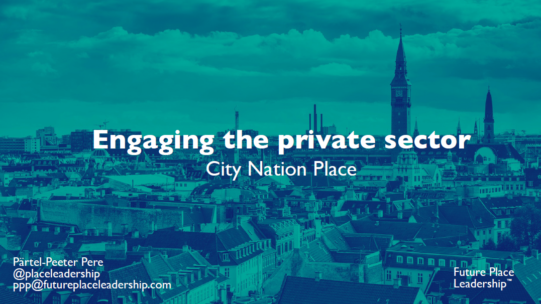Placemaking and Placebranding