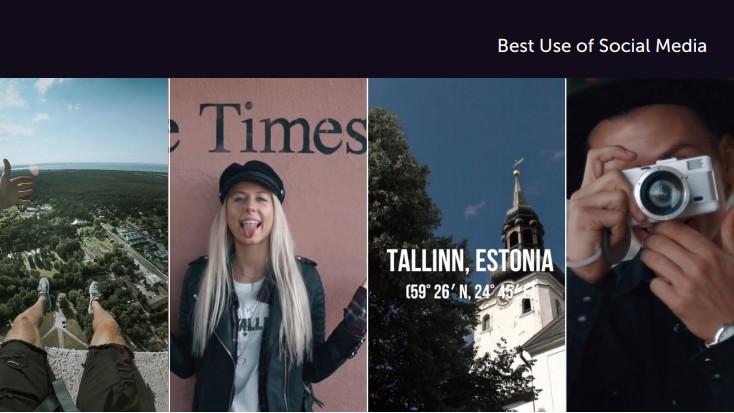 Visit Tallinn Creators' Camp Best Use of Social Media Finalist