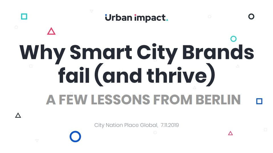 Why smart city brands fail (and thrive)