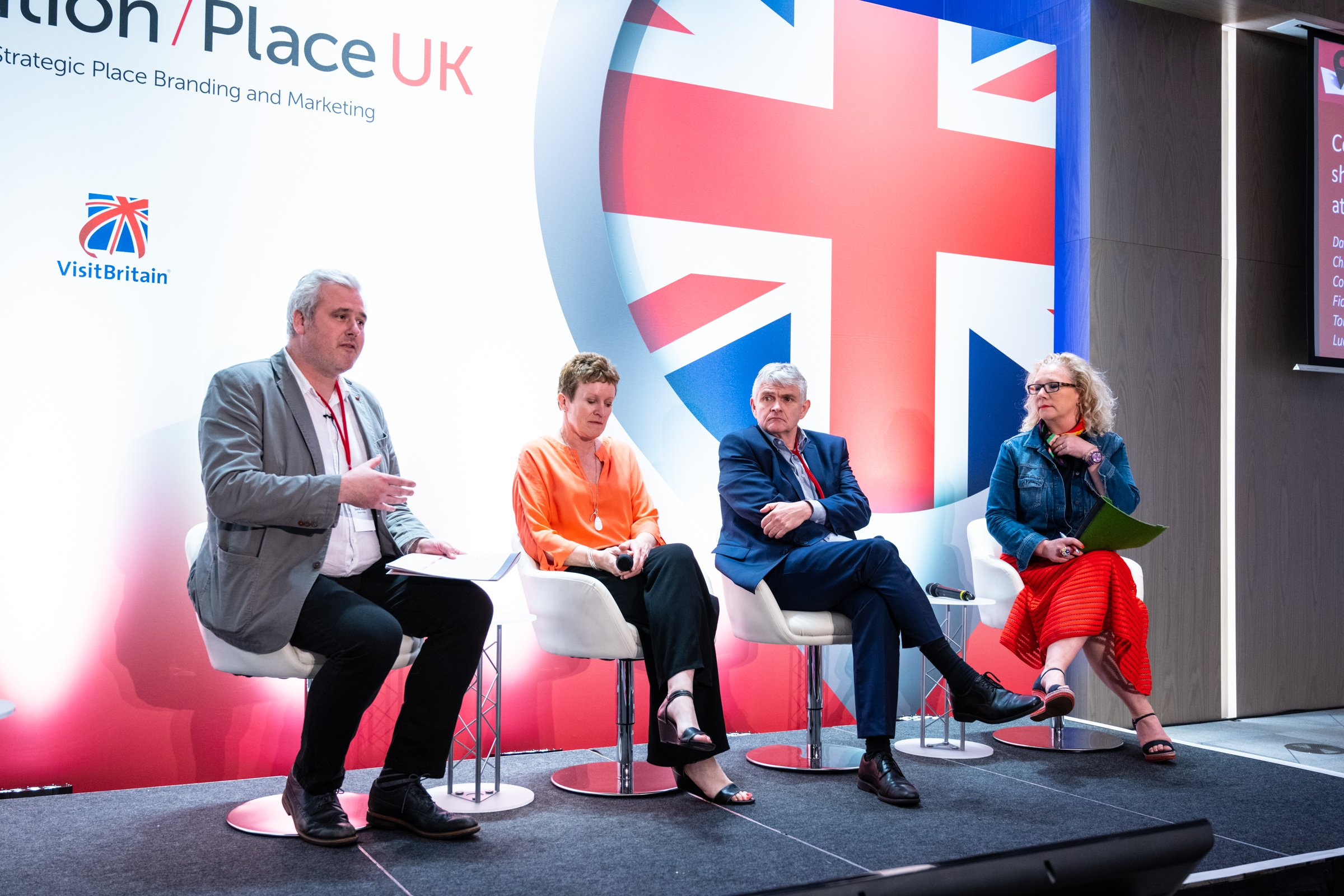 A panel of place brand practitioners at City Nation Place UK
