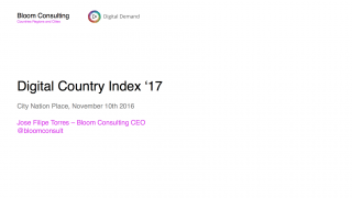 Digital country year in review, Jose Filipe Torres, Bloom Consulting