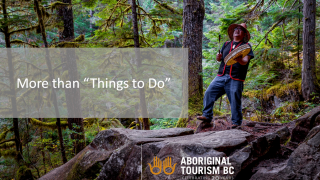 Cultural heritage and place brand strategy - Aboriginal Tourism Association of British Columbia