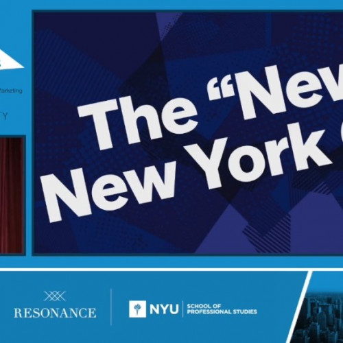 "Opening Keynote:""The Story of the new New York"""