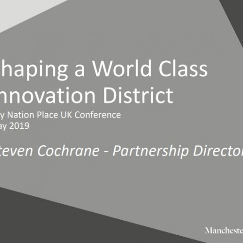 Shaping a world-class innovation district