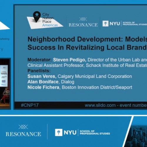 Neighborhood Development: Models for Success In Revitalizing Local Brands
