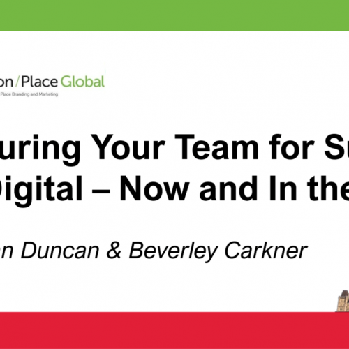 Structuring your team for success with digital - now and in the future - Ottawa Tourism