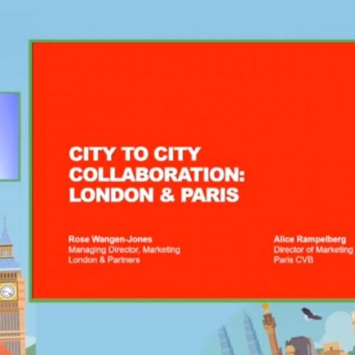 City to city collaboration: London & Paris