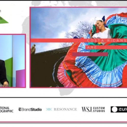 Andrea Centeno & Andrew Davis Putting FDI Centre Stage, Costa Rica & Hong Kong