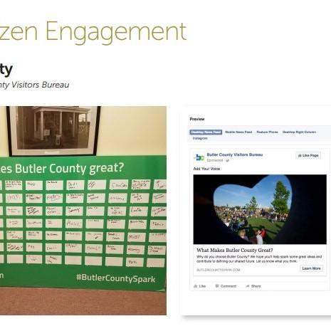 Butler County Best Citizen Engagement 2017 Finalist
