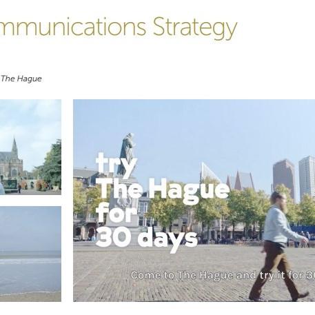 Den Haag Best Communications Strategy 2017 Winner