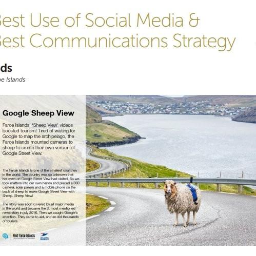 Faroe Islands Best Communications Strategy 2017 Finalist