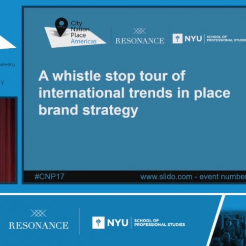 Introduction to the day: whistle stop tour of trends in international place brand strategy