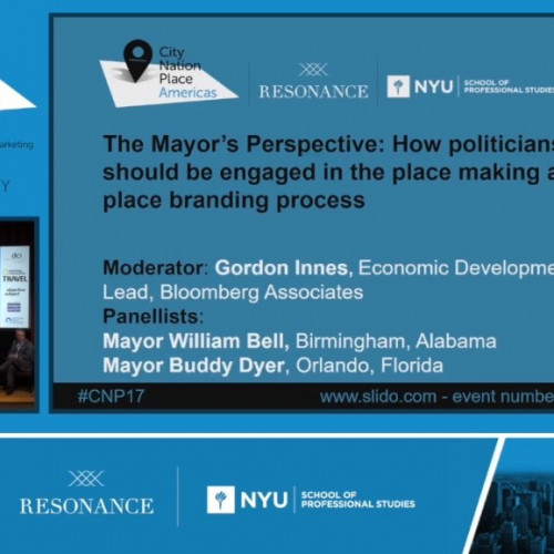The Mayors' Perspective: How politicians should be engaged in the place making and place branding process
