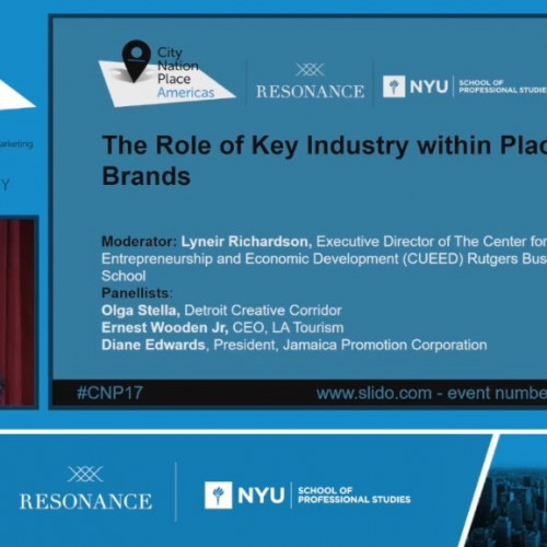 The Role of Key Industry within Place Brands