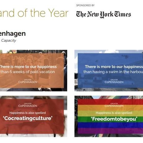 Greater Copenhagen Place Brand of the Year 2017 Winner