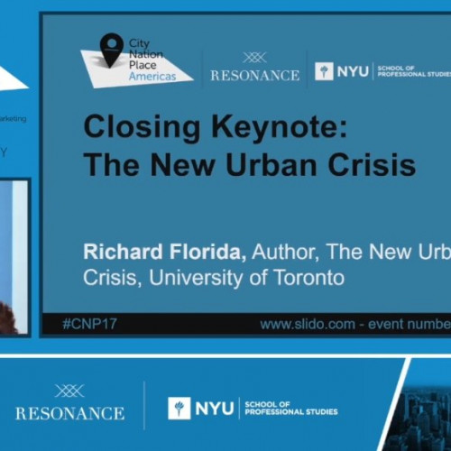 Closing keynote: The New Urban Crisis