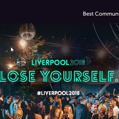 Liverpool 2018 Best Communication Strategy FInalist