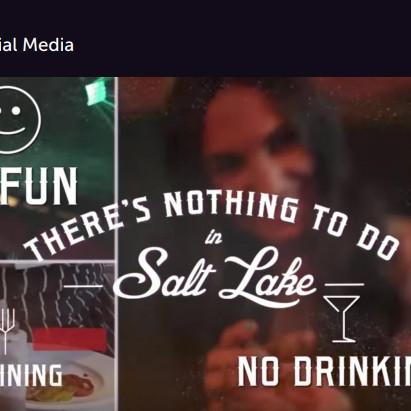 There's No Nightlife in Utah Best Use of Social Media Finalist