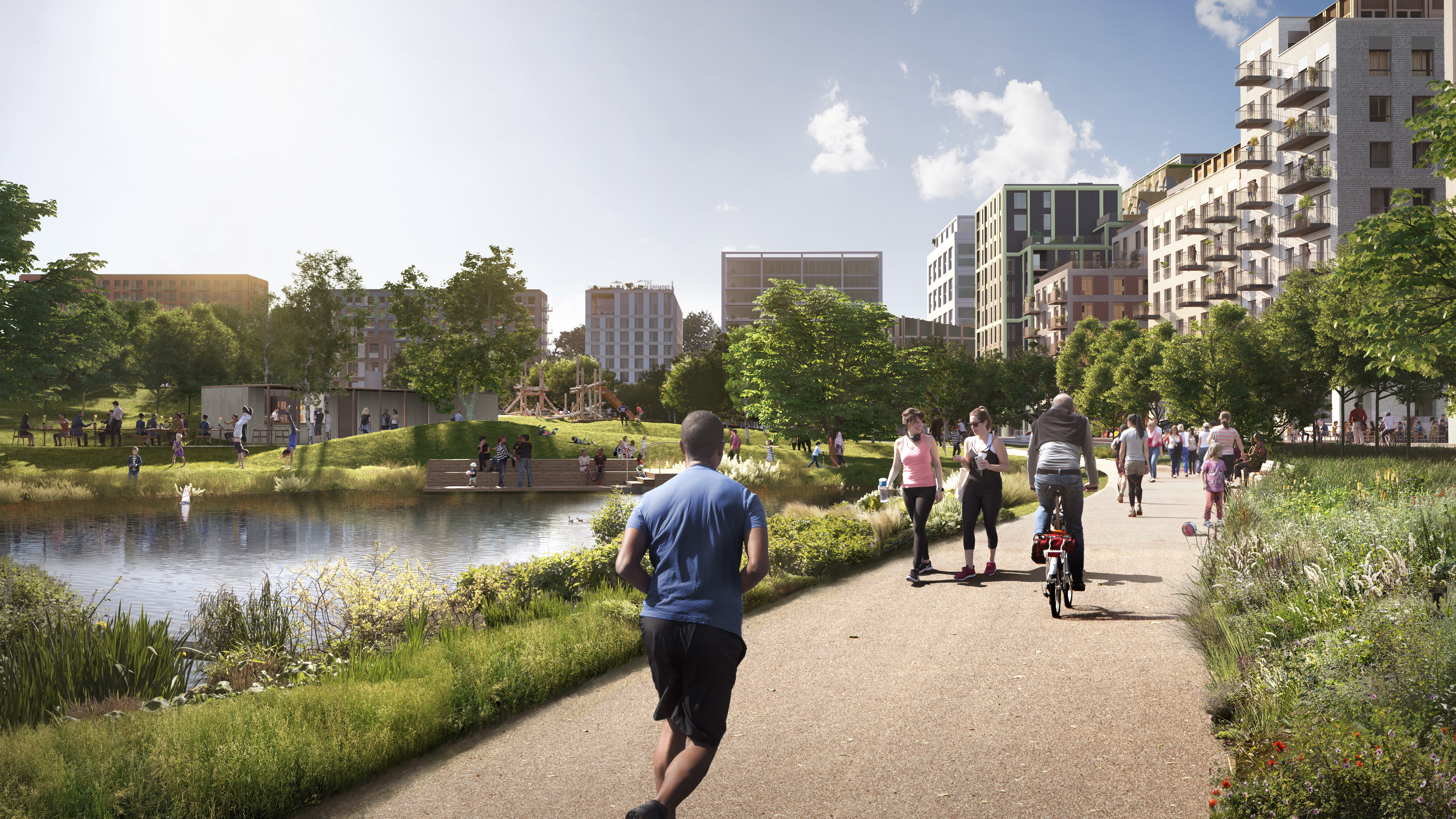 Putting sport and wellbeing at the heart of the Brent Cross redevelopment project.