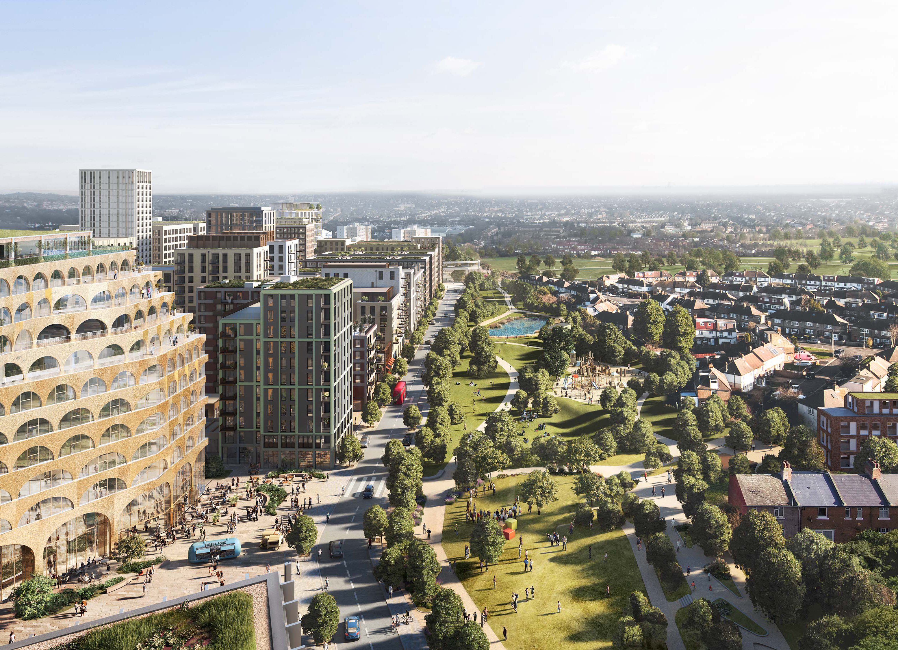 A first look at the regeneration project in Brent Cross Town.