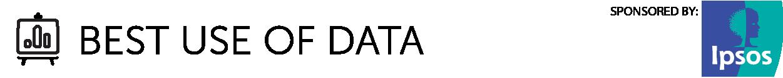 Best use of data category logo
