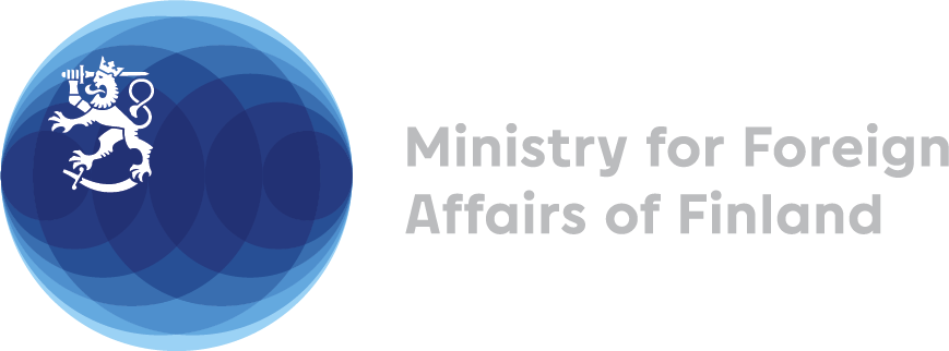 Logo for the Ministry for Foreign Affairs for Finland
