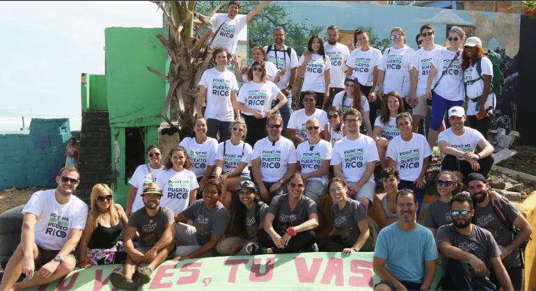 Bringing tourism back to Puerto Rico - team photo