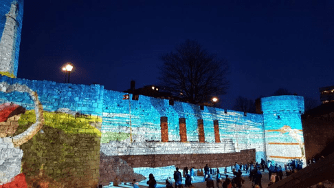 An example of successful placemaking: Southampton's Light Festival