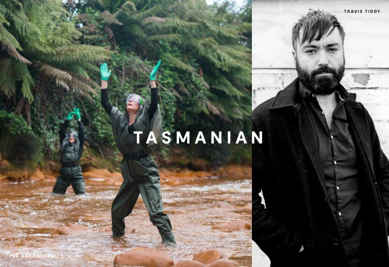 An example of the Tasmanian design identity