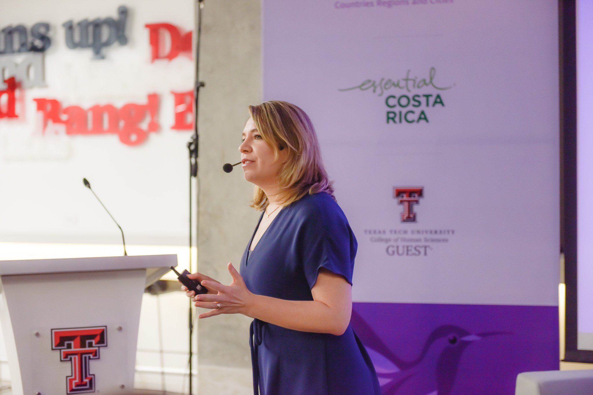 Claudia Dobles, First Lady of Costa Rica, speaks at CNP Latin America & Caribbean