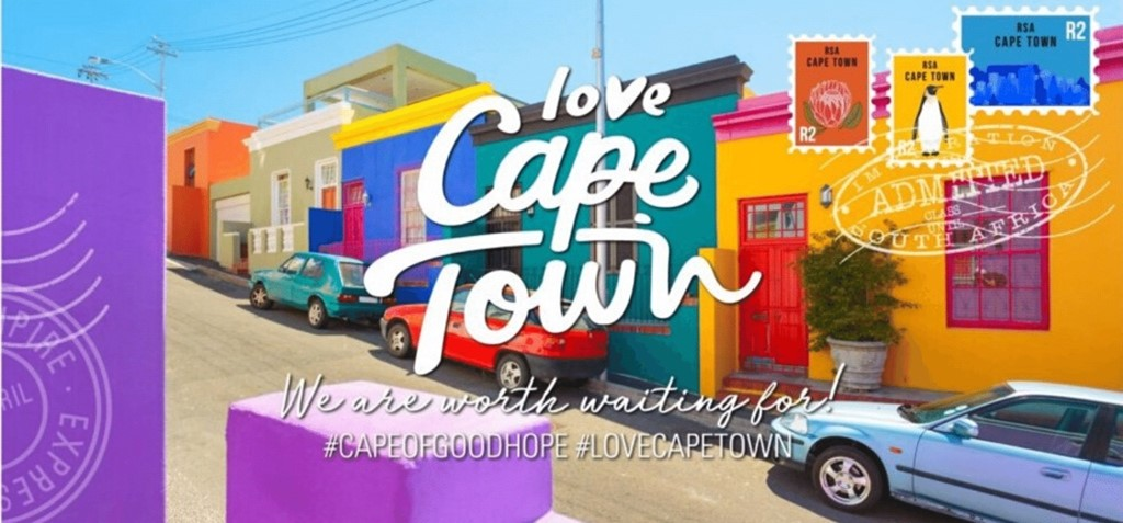 Image from Cape Town Tourism's campaign, #CapeOfGoodHope #LoveCapeTown