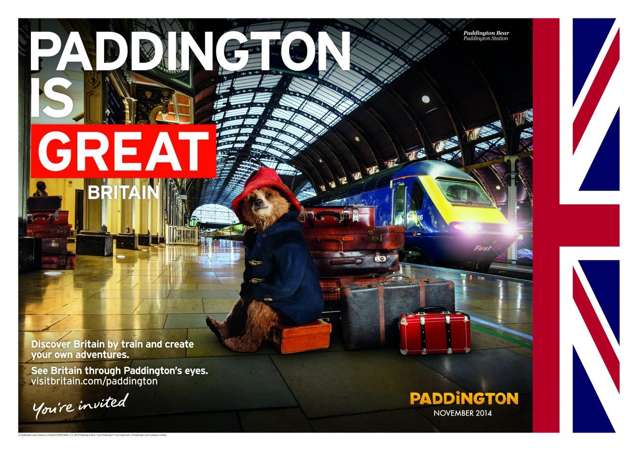 Paddington is GREAT - image of Paddington Bear