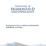 Development of the Low Adhesion Braking Model (LABRADOR): Final Report
