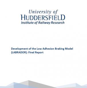 Development of the Low Adhesion Braking Model (LABRADOR): Final Report