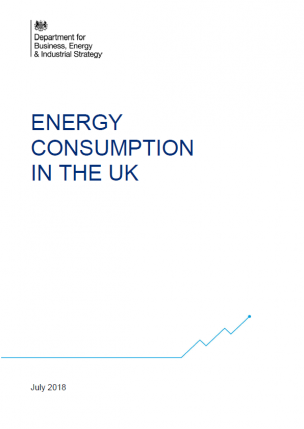 Energy consumption in the UK (2018)