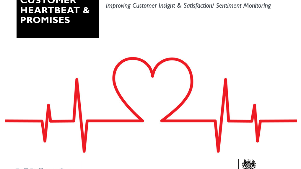 RDG Customer Heartbeat™ & Promises - presentation