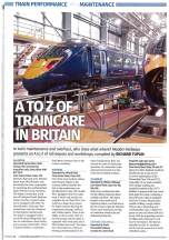 A to Z of traincare in Britain
