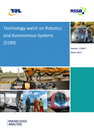 Technology watch on Robotics and Autonomous Systems (S199)