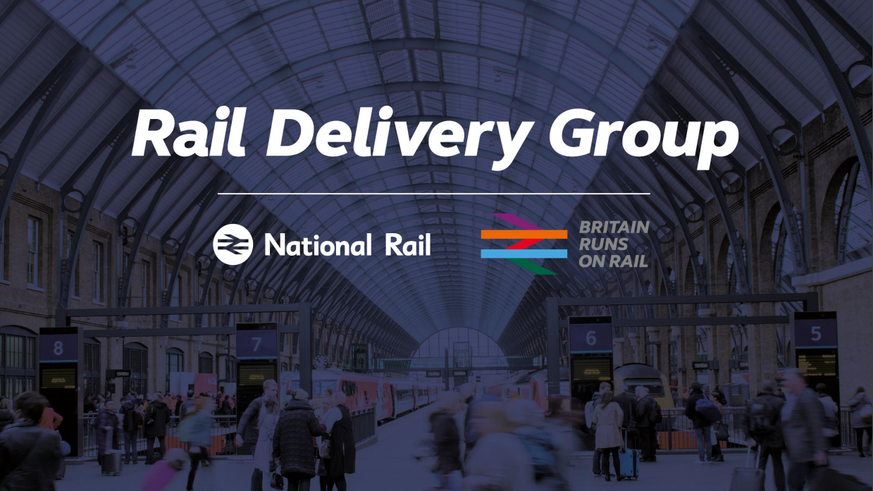 Rail's transformation in numbers (RDG)