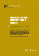 Executive Summary: Resourcing - How HR's Core Competence is Evolving